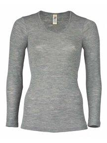 Engel Natur Longsleeve Women - grey