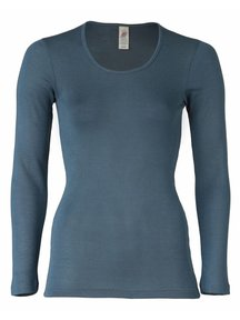 Engel Natur Longsleeve Women - atlantic