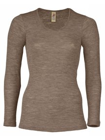 Engel Natur Longsleeve Women - brown