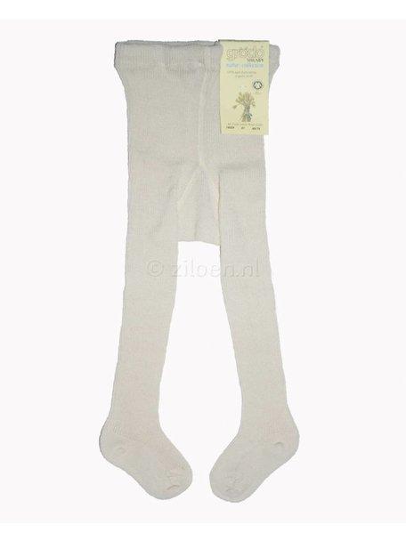 Grödo Dikke wollen kind maillot - wit/naturel