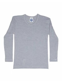 Cosilana Kids Longsleeve Wool/Silk/Cotton - grey