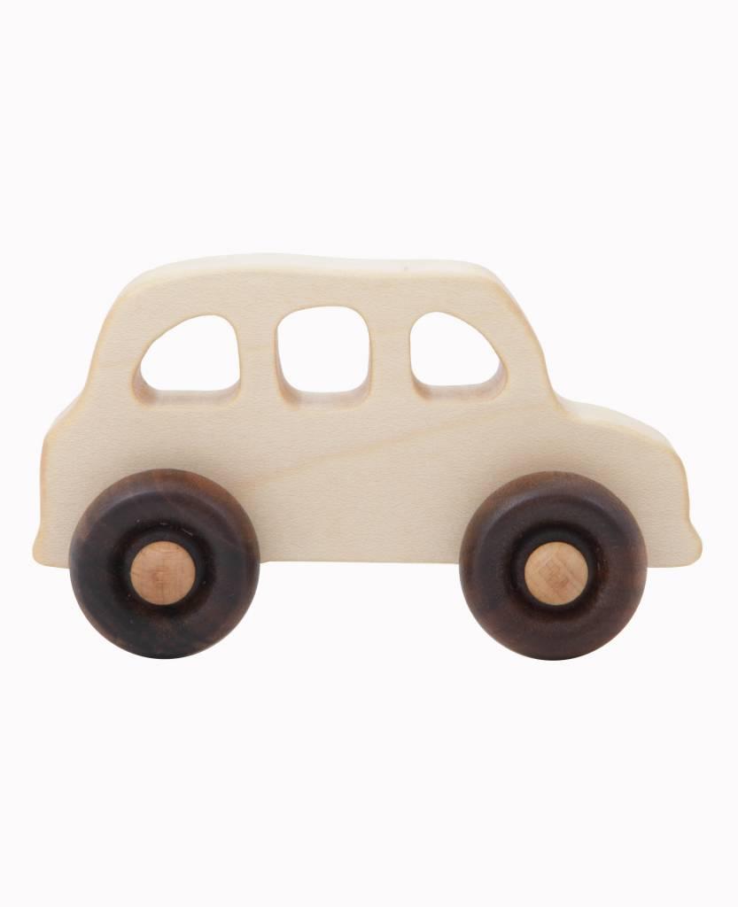 Wooden Story Houten Speelgoed Auto Engelse Taxi Ziloen