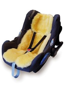 Christ Natural lambskin car seat liner
