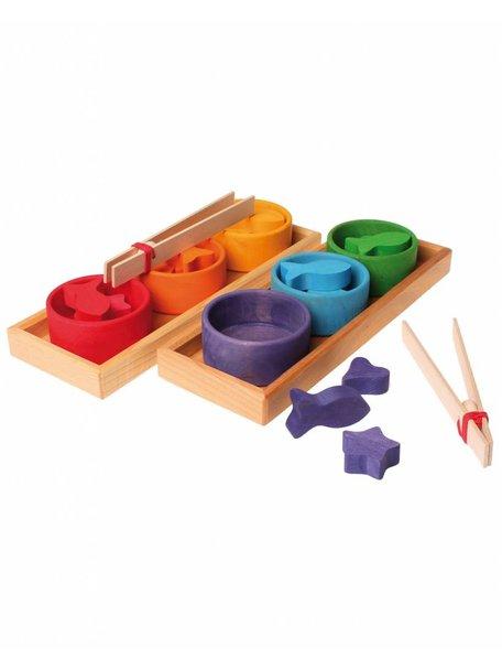 Grimm's Regenboog sorteer spel