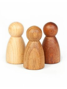 Grapat Nins® in drie soorten hout