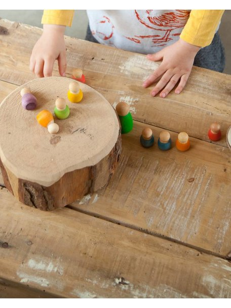 Grapat Baby nins® in kokosnoot schaal