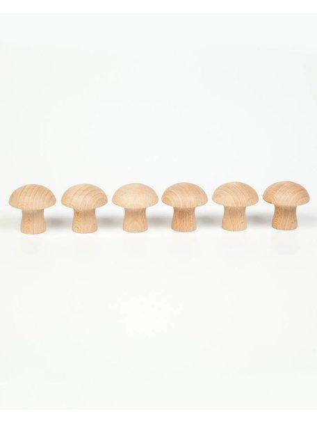 Grapat Houten paddenstoelen