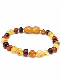 Amber Barnsteen kinder armband 16,5cm - multi colour