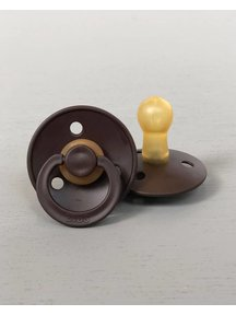 Bibs Pacifier Natural Rubber - chocolate