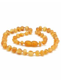 Amber Amber Baby Necklace 32cm - honey raw