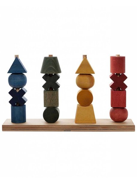 Wooden Story Rainbow Stacking Toy XL