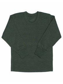 Ruskovilla Merino Wool Top - green