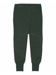Ruskovilla Pants Organic Merino Wool - green