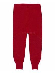 Ruskovilla Pants Organic Merino Wool - red