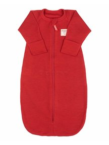 Ruskovilla Sleeping Bag Organic Merino Wool - red