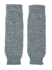 Hirsch Natur Leg Warmers for Kids - grey