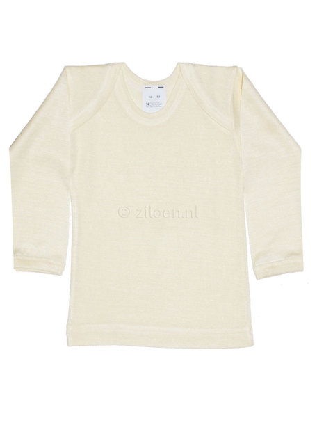 Hocosa Zijden hemdje - wit/naturel