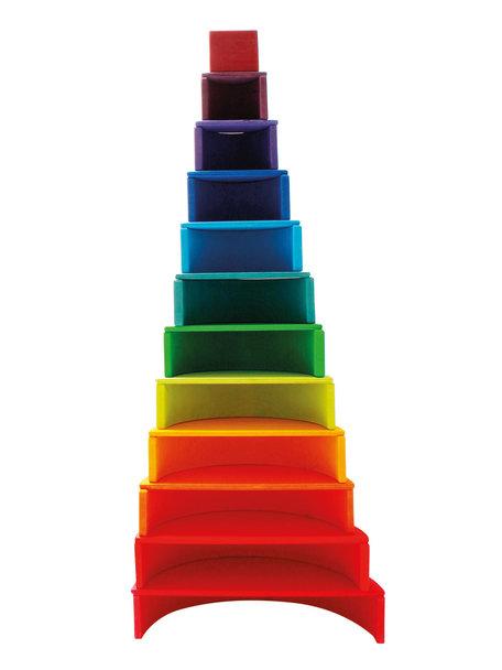 Grimm's Regenboog groot 12-delig - Regenboog