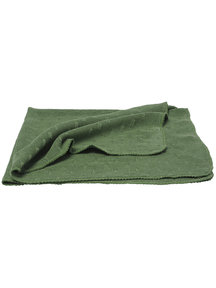 Reiff Blanket Organic Wool/Silk - green