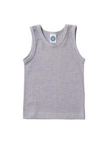 Cosilana Kinderhemd van wol/zijde/katoen - grijs