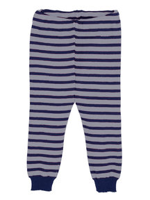 Popolini iobio Leggings Thick Wool - blue/grey