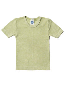 Cosilana Kids T-Shirt Wool/Silk/Cotton - green