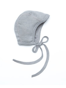 Cosilana Baby Bonnet Wool/Silk/Cotton - Grey