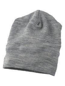 Engel Natur Beanie Wool / Silk - grey