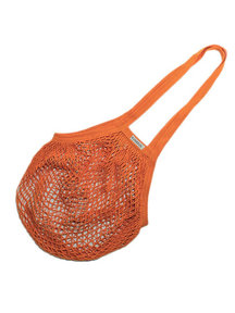 Bo Weevil Net bag with long handles - orange