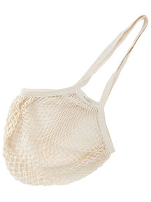 Bo Weevil Net bag with long handles - natural
