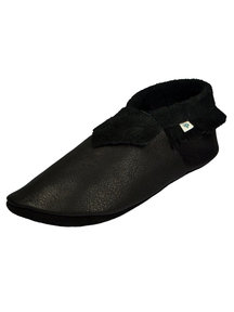 Pantolinos Moccasins for mom - black