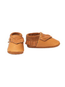 Pantolinos baby moccasins - indian summer