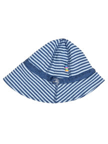 Joha Summer hat - blue  striped