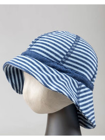 Joha Summer hat - blue  striped
