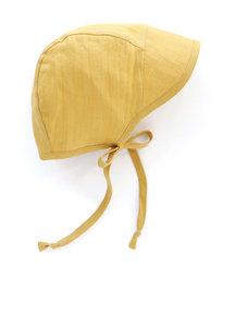 Briar Handmade Linen bonnet brimmed - Suncup