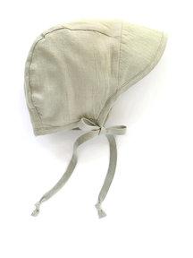 Briar Handmade Linen bonnet brimmed - Agave