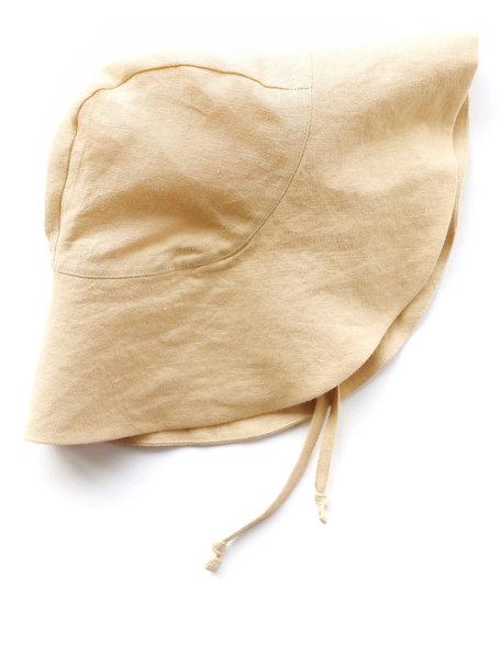 Briar Handmade Linnen zonnehoed - Wheat
