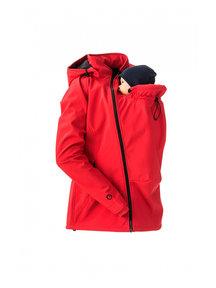 Mamalila Softshell Babywearing Jacket clickit -red