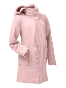 Mamalila Hooded Babywearing Coat - winter rose
