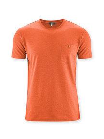 Living Crafts T-Shirt van katoen/hemp - oranje