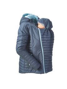Mamalila quilted winter jacket - doveblue