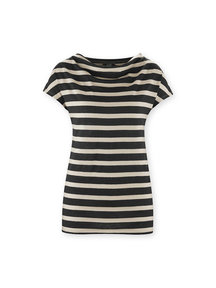 Living Crafts Dames shirt van katoen/linnen