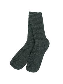 Joha Sokken van wol - antraciet