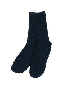 Joha Sokken van wol - donkerblauw