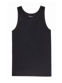 Joha Undershirt Men Merino Wool - black