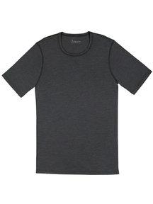 Joha Heren t-shirt Johansen wol/zijde - grijs