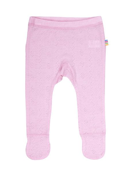 Joha Baby broekje wol/zijde ajour - roze