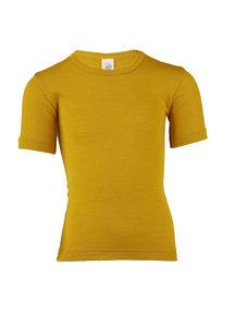 Engel Natur Kids T-Shirt Wool/Silk - saffron