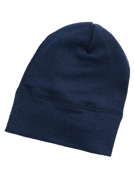 Engel Natur Beanie Wool/Silk - navy