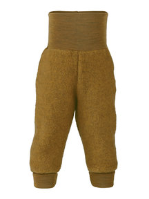 Engel Natur Trouser Wool Fleece - saffron